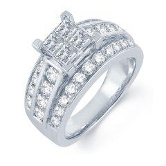14K  2.62CT  PR/CT   Diamond  RING.