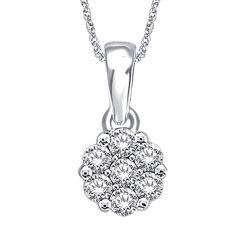 14K  0.75CT  Diamond  PEND.