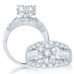 14K  2.00CT  Diamond  RING.