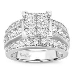 14K  3.50CT  PR/CT   Diamond  RING.