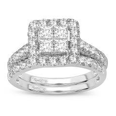 14K  1.75ct Bridal Ring