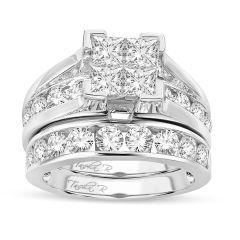 14K  4.00CT Diamond BRIDAL  RING