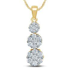 14K  0.50CT  Diamond  Pendant