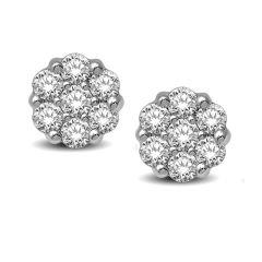 14K  0.91CT  Diamond  Earring