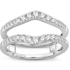 14K  0.50CT  Diamond  RING GUARD