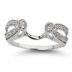 14K  0.34CT  Diamond  RING GUARD