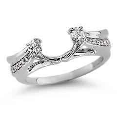14K  0.33CT  Diamond  RING GUARD