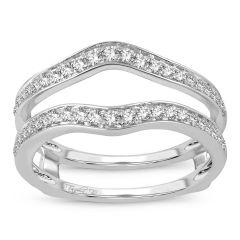 14K  0.40CT  Diamond  RING GUARD