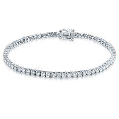 14K 6.00CT Diamond Tennis Bracelet