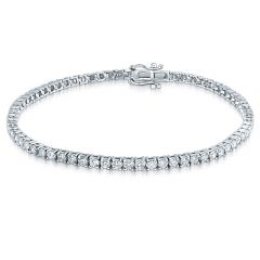 14K 1.00CT Diamond Tennis Bracelet